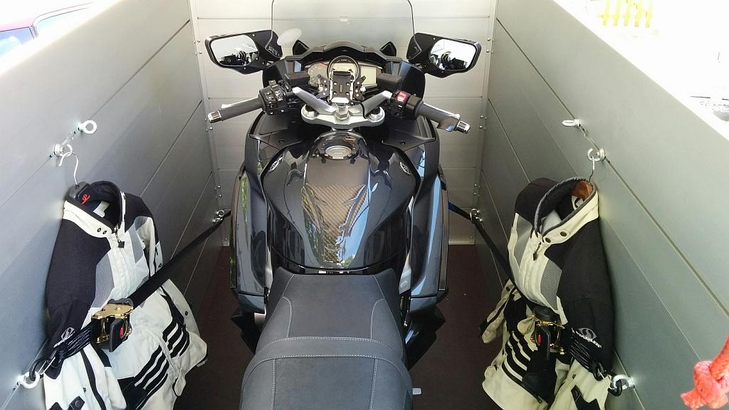 Anssems VT3 Motorrad-Anhänger
